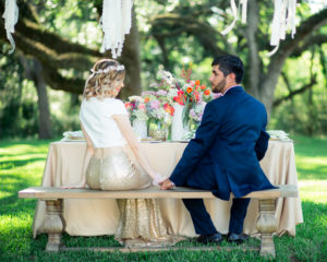 Bohemian Colorful Watercolor Wedding Styling | Jessica Pledger Photography
