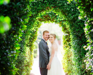 River Oaks Garden Club Wedding Ceremony