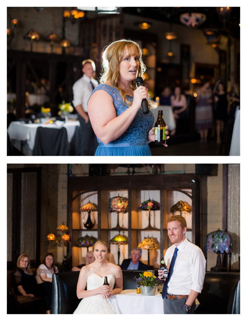 Nouveau Art Bar Wedding Reception
