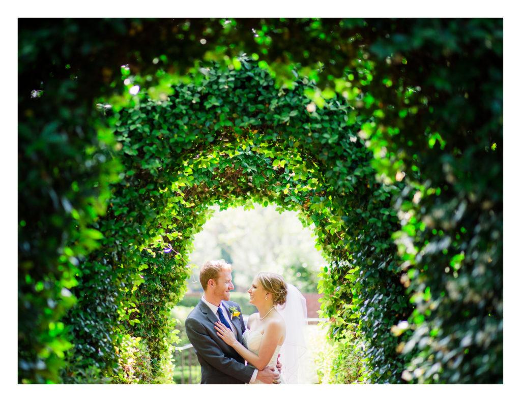 River Oaks Garden Club Wedding Ceremony