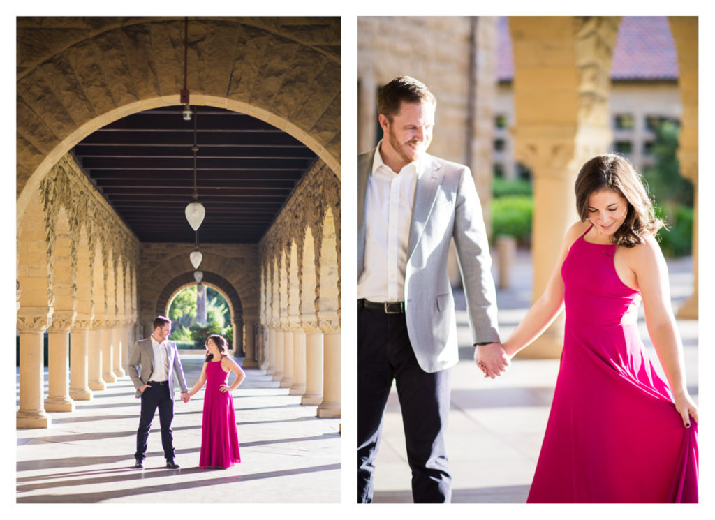 Stanford University Campus Engagement Photos by Jessica Pledger Photography