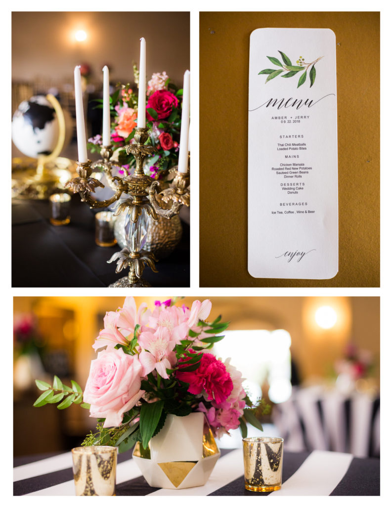 Kate Spade Inspired Wedding at Tuscan Courtyard -Houston Wedding Venue