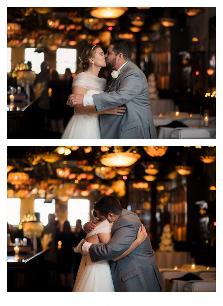 Nichole & Seth had their first look outside the beautiful Houston Magnolia Hotel before heading to their wedding ceremony and reception at the unique Nouveau Antique Art Venue in Houston! - Jessica Pledger Photography , Houston Wedding Photographer