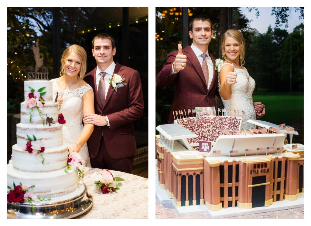 Shirley Acres Houston Wedding | Jessica Pledger Photography | Aggie Wedding