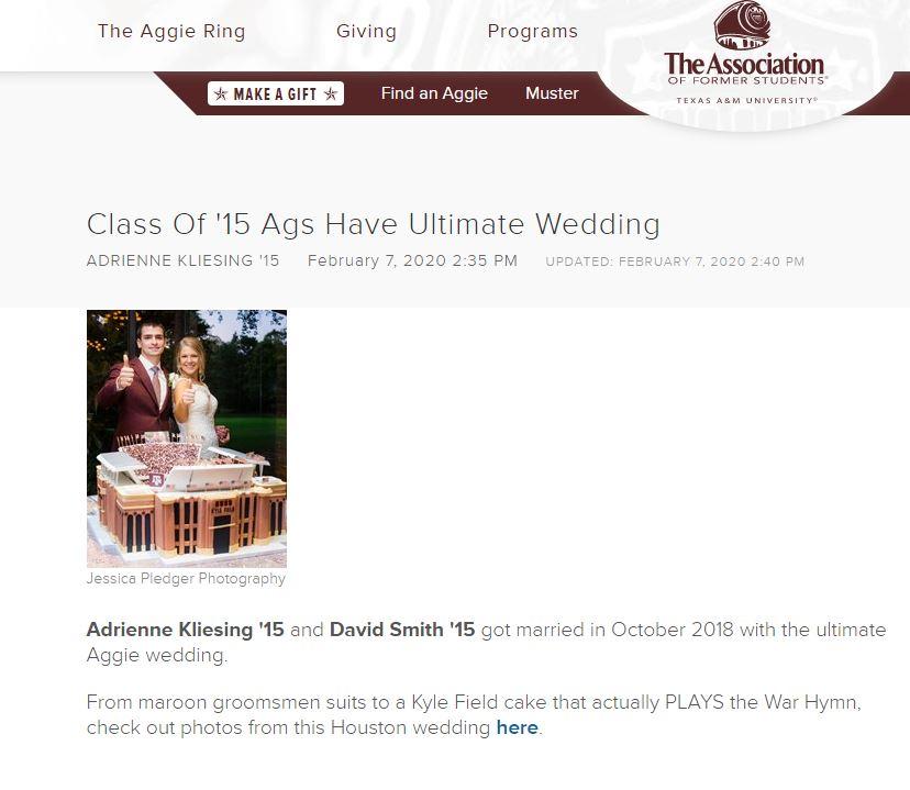 Texas A&M - Aggie Wedding - Houston Wedding Photographer