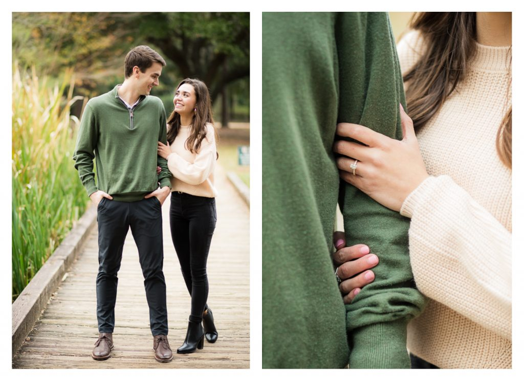 A Proposal at Hermann Park in Houston, TX by Jessica Pledger Photography - engagement photos