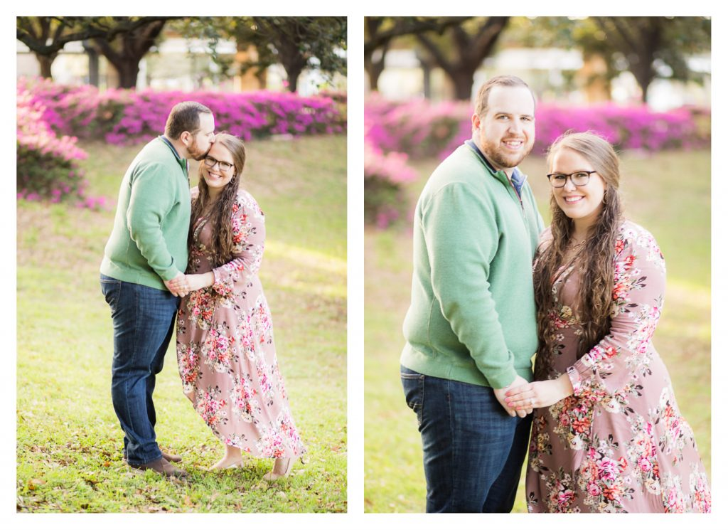 Downtown Houston Spring Engagement Session | Jessica Pledger Photography | Houston Engagement & Wedding Photographer