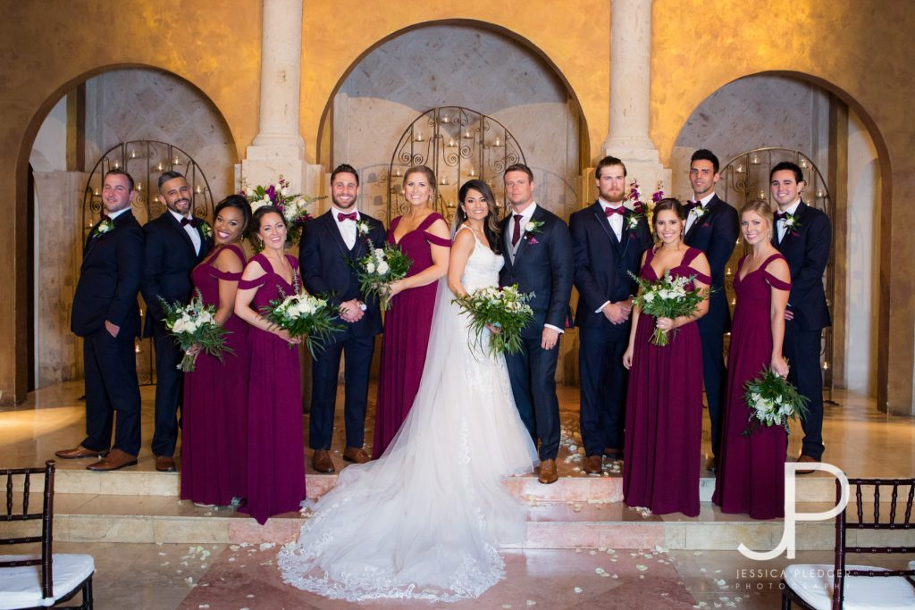 Beautiful Bell Tower on 34th Wedding by Jessica Pledger Photography in downtown Houston
