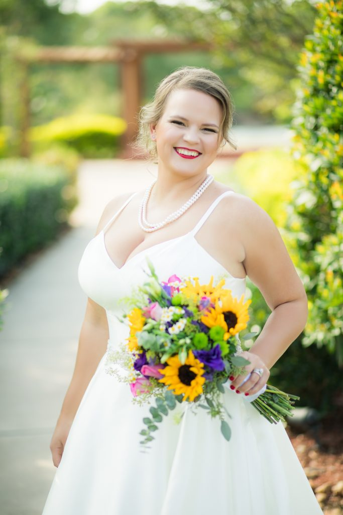Tuscan Courtyard Outdoor Garden Bridals Session | Evelyn's Bridals by Jessica Pledger Photography - Houston Wedding Photographer