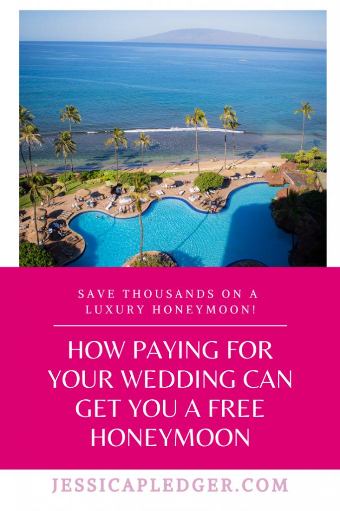 Use Wedding bills to get a free luxury honeymoon! Best life hack ever!