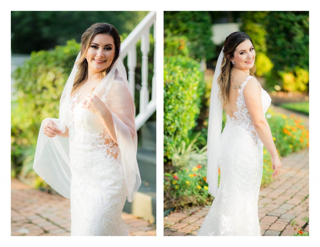Butler's Courtyard Bridal Session in League City by Jessica Pledger Photography